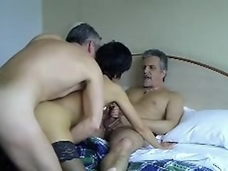French mature loves trios..