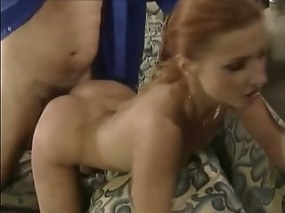 Mature woman is fucked hard..